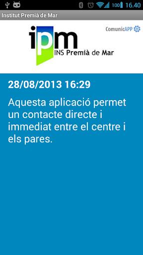 【免費教育App】Institut Premià de Mar-APP點子