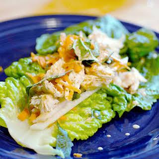 Thai Chicken Wraps.