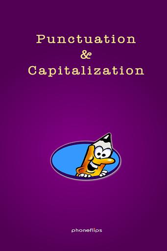 Punctuation + Capitalization