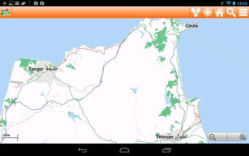 旅遊必備APP下載|Morocco Offline mappa Map 好玩app不花錢|綠色工廠好玩App