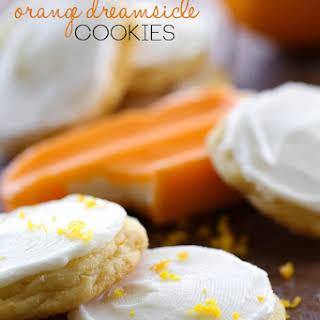 Orange Dreamsicle Cookies.