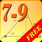 Geometry 7-9. Cheat sheet.