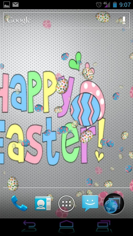 Happy Easter Live Wallpaper - screenshot