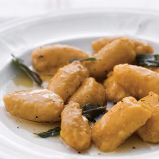 Butternut Squash Gnudi with Sage Butter
