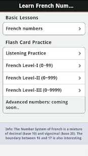 Learn French Numbers, Fast!- screenshot thumbnail