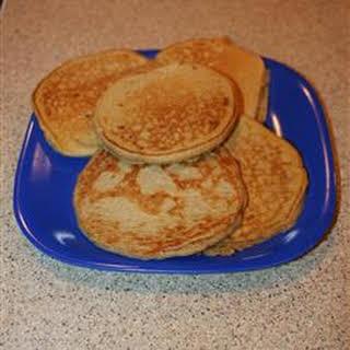 Hearty Oatmeal Pancakes.