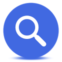 Blue Google Mobile icon