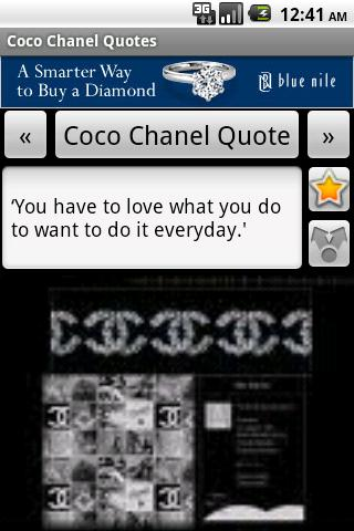 Coco Chanel Quotes - screenshot
