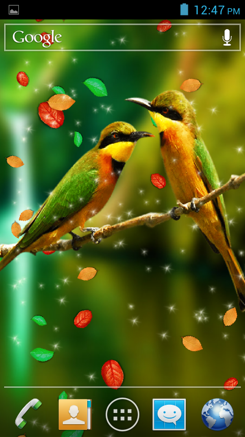 Birds 3D Live Wallpaper Android Apps On Google Play