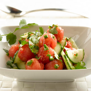 Zesty Watermelon Salad.