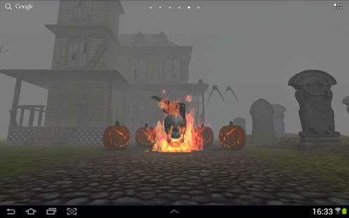 3D Halloween Live Wallpaper