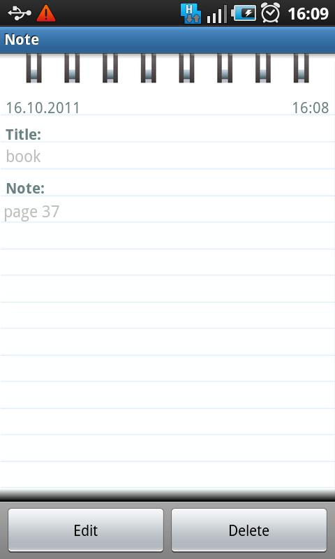 My Diary - screenshot