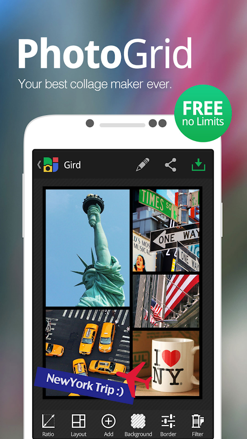 Overview - Photogrid APK for Android
