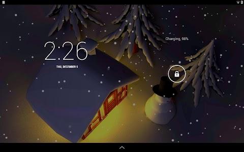 Winter Snow in Gyro 3D Pro v1.0.1