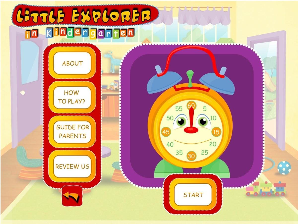 Little Explorer - Kindergarten - screenshot