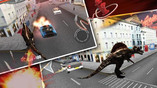 恐龍的攻擊3D