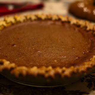 Perfected Pumpkin Pie