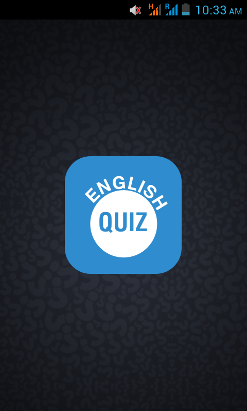 Test Your English Quiz- screenshot