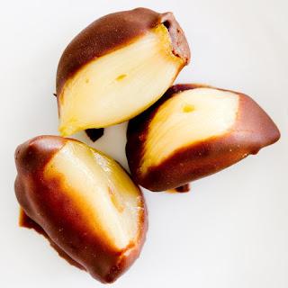 Halloween Snack Idea – Chocolate Covered Garlic