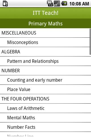 ITT Teach Primary Maths
