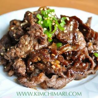 Bulgogi – Korean Beef BBQ (불고기).