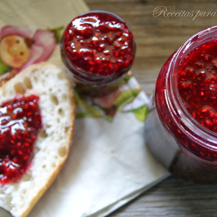Raspberry Jam with Chia Seeds