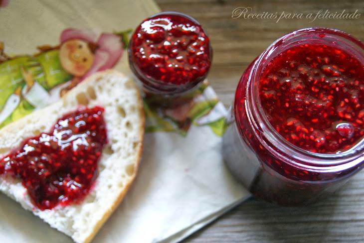 Raspberry Jam with Chia Seeds Recipe