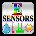 Environment sensors icon