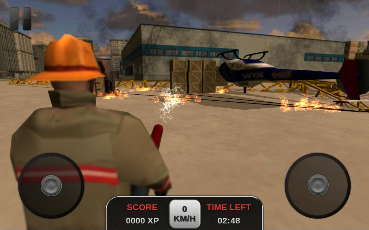 Firefighter Simulator 3D - screenshot