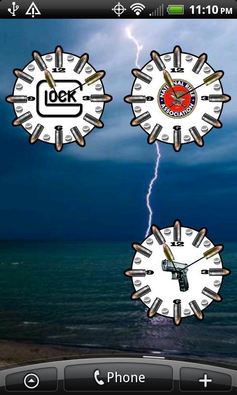 NRA Logo Clock ★ Widget ★- screenshot