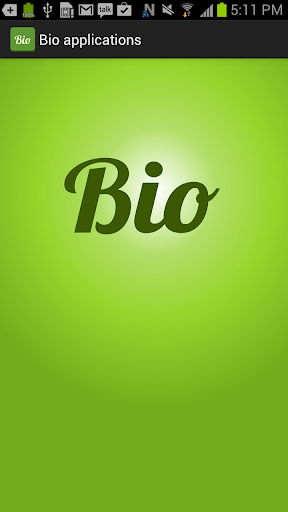 Bio apps
