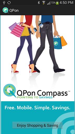 QPon Mobile Coupon Savings