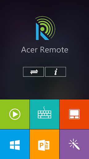 Acer Remote 4.7.5 screenshots 1