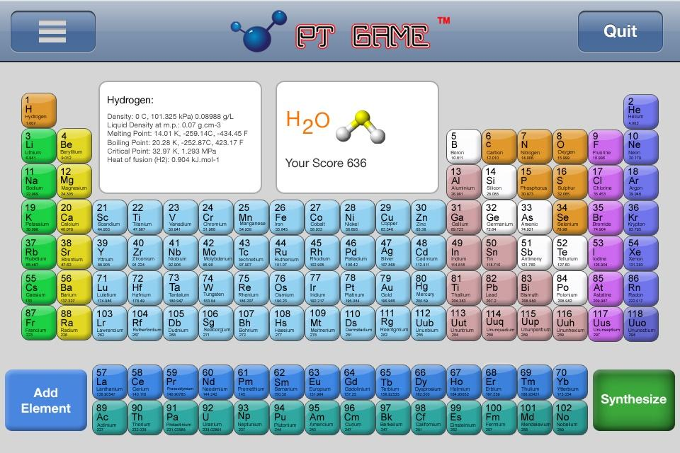 Periodic table interactive periodic table of elements games periodic table element public android apps on google play urtaz Image collections