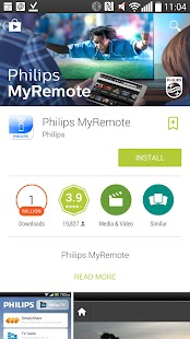 Philips MyRemote- screenshot thumbnail