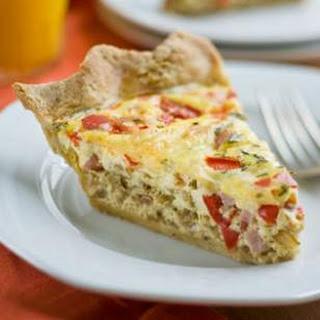 Ham & Swiss Quiche