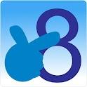 數字手語齊齊用 icon