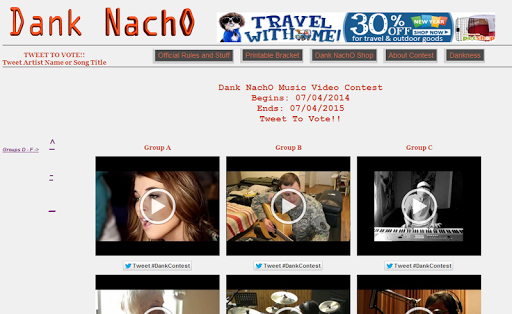 Dank NachO Music Video Contest