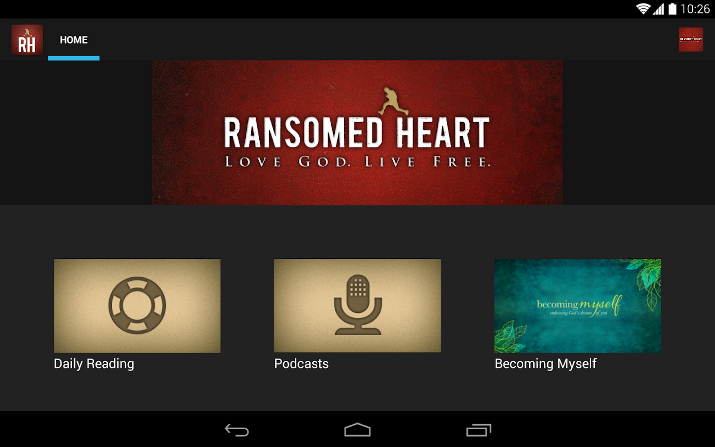 Ransomed Heart- screenshot