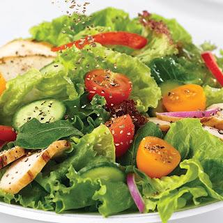 Grilled Chicken Salad with Balsamic Honey Vinaigrette