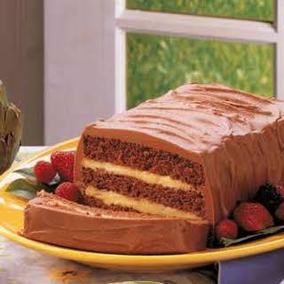 Layered Chocolate Cake.