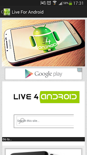 Live For Android
