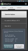 Screenshot of MilitariTest