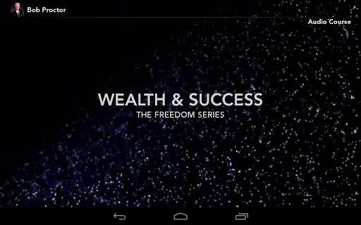 Bob Proctor Wealth Success