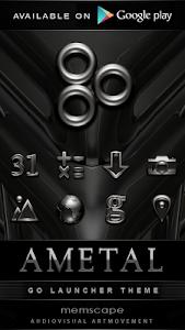 Poweramp skin Ametal v2.02