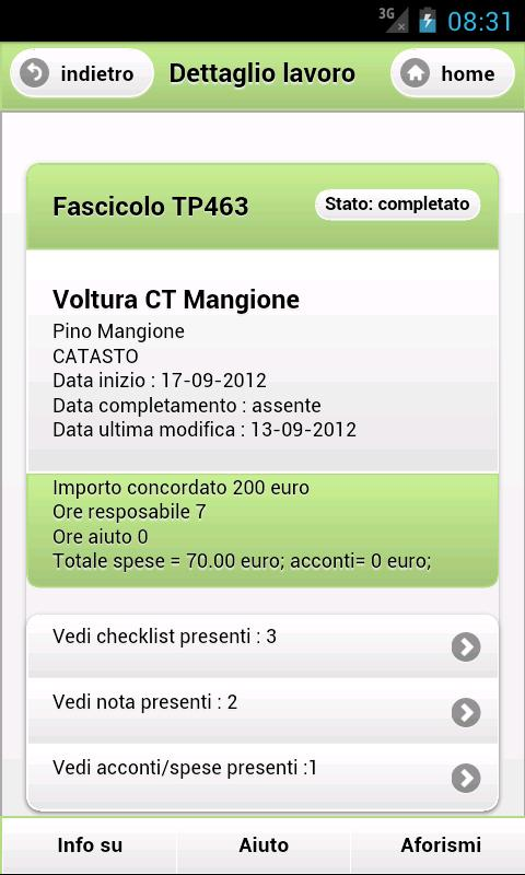 TapP Ambrogio- screenshot