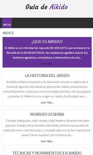 Guía de Aikido