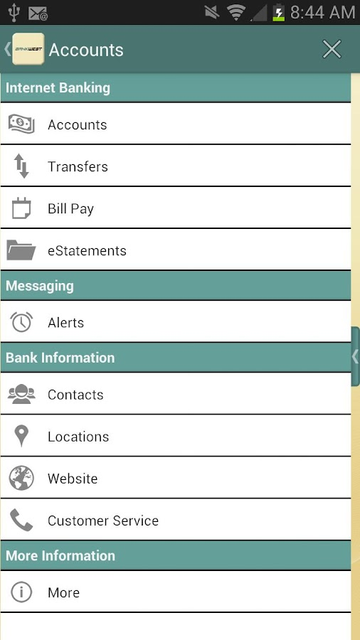 Bankwest Mobile Banking  Screenshot. Insurance Broker Systems Software. Everest College In Alhambra What Is An Ed S. Nc State University Programs. Highest Savings Rates Canada. Water Cooler Service For Office. Htc Desire Storage Space Photographs To Canvas. Home Phone Service Verizon Dr Ronzo Florida. Johnson And Wales Cooking Classes