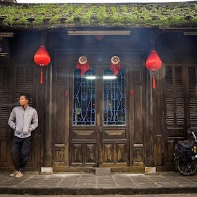 by Hong Yc - People Portraits of Men