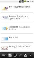 Screenshot of IBM Switzerland - GBS